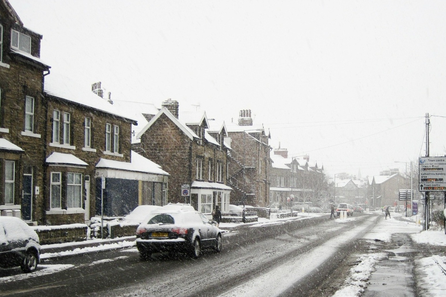 Weather Warnings issued as snow hits the UK