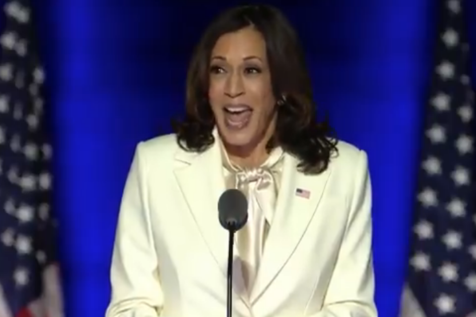 I may be the first, I won't be the last: Kamala Harris reflects on historic win