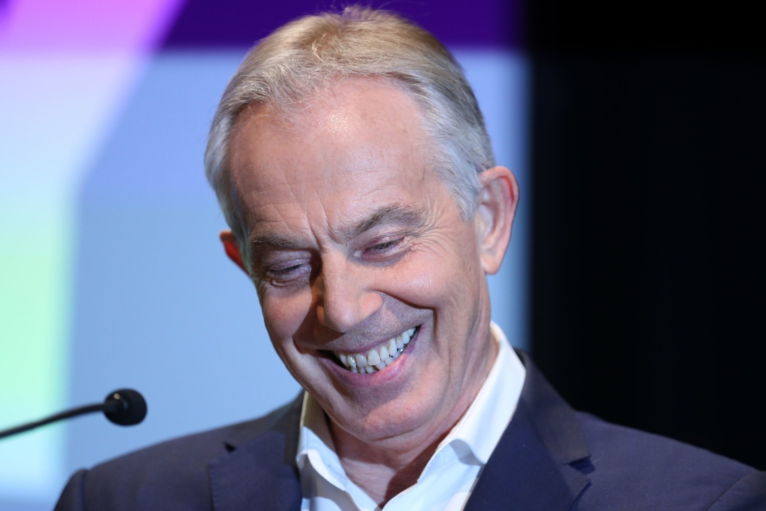 TONY BLAIR WARNS LABOUR MUST RENEW ITSELF AS \'PROGRESSIVE\' OR FACE SLOW DEMISE
