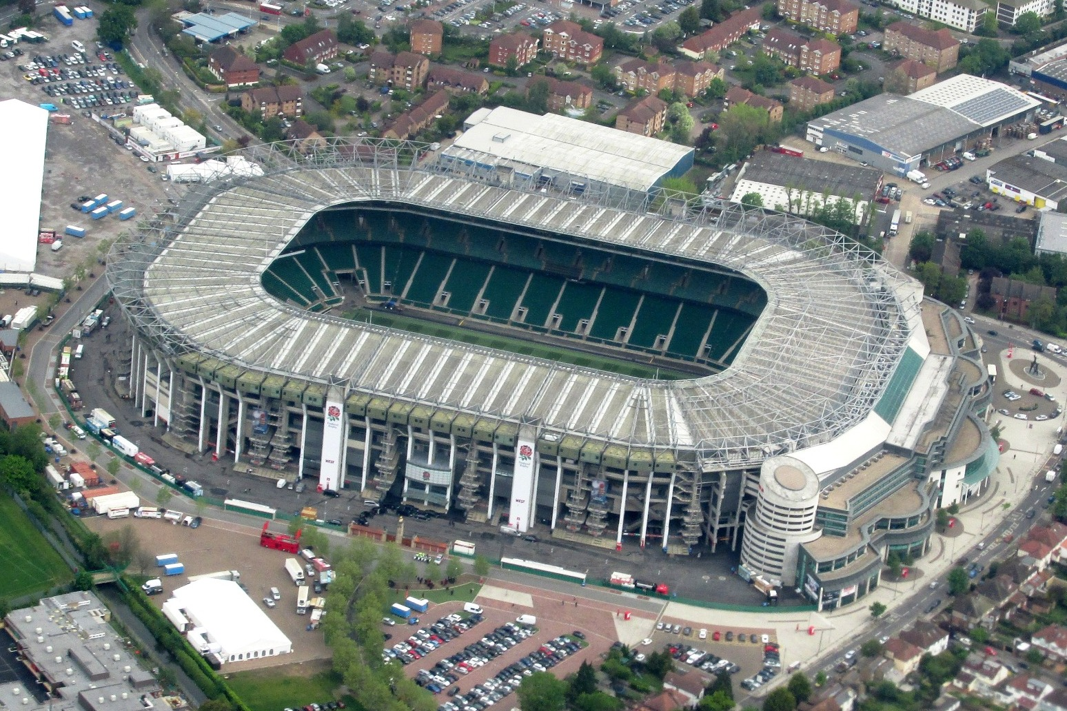 Twickenham becomes a one day vaccination site