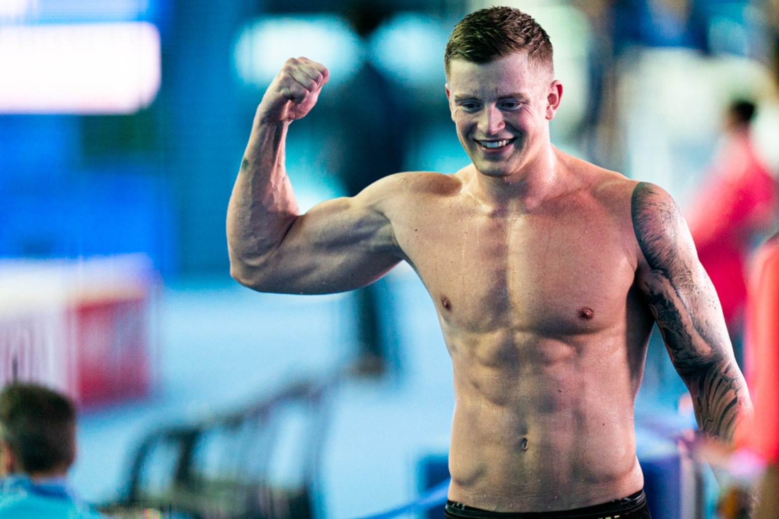 Olympic swimmer Adam Peaty explains why he signed up for Strictly Come Dancing.