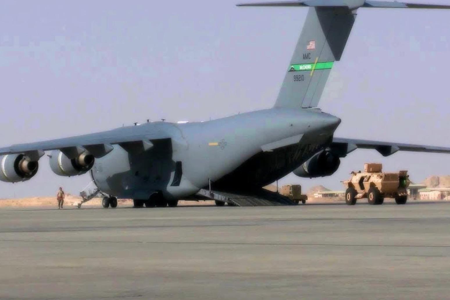 US 'has capacity to evacuate 300 Americans remaining in Afghanistan'