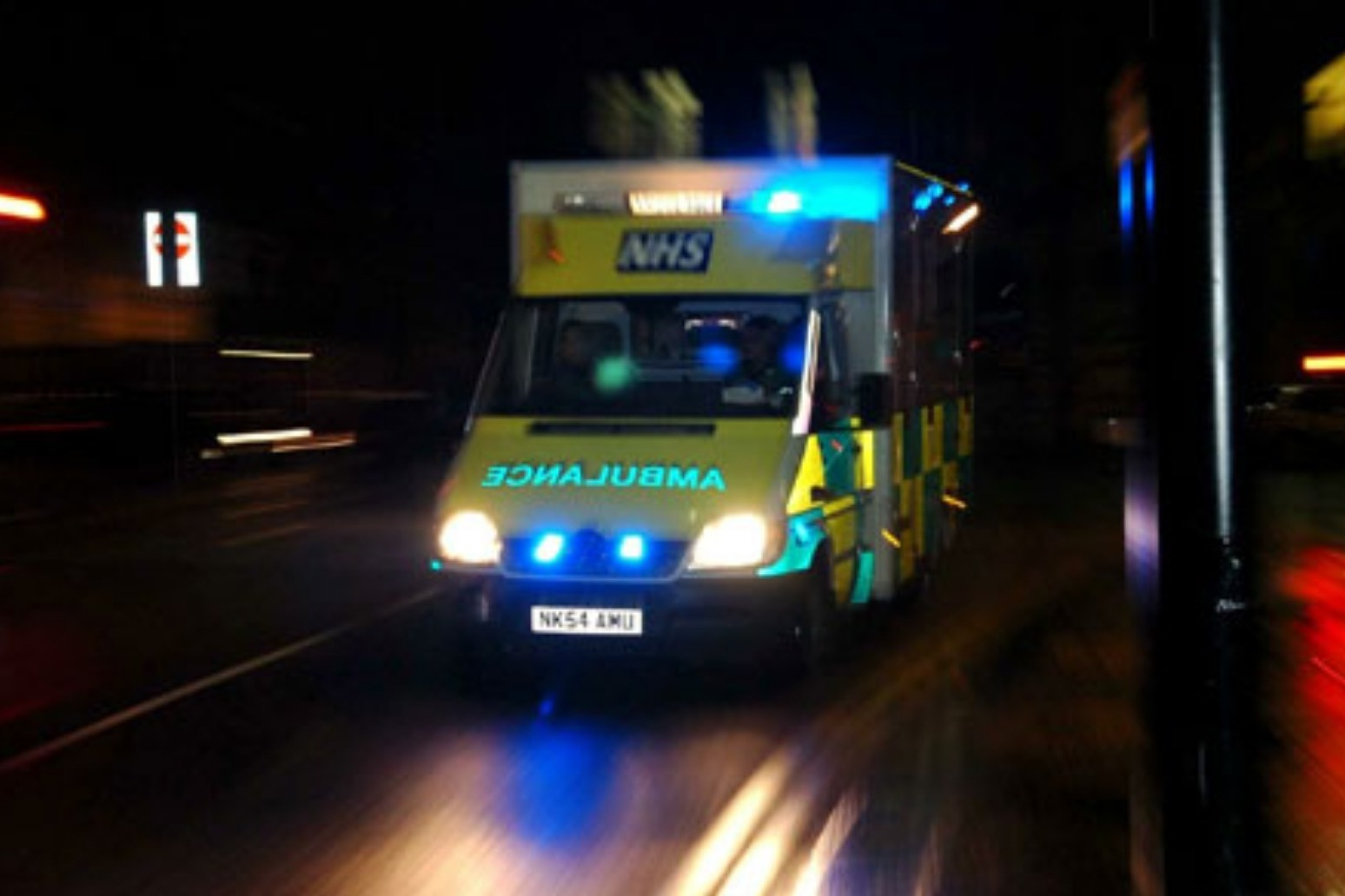 Two dead and seven injured in three car crash in North Yorkshire