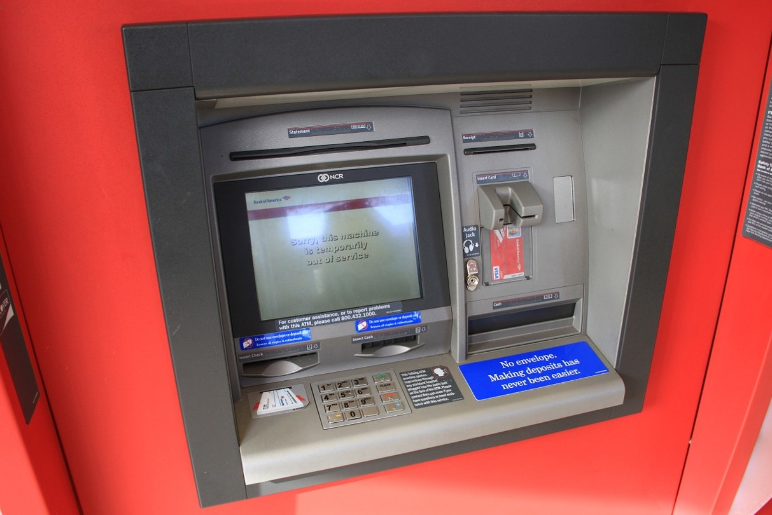 CASH MACHINES TO OFFER BANKING SERVICES WITHIN FIVE YEARS, SAYS ATM GIANT