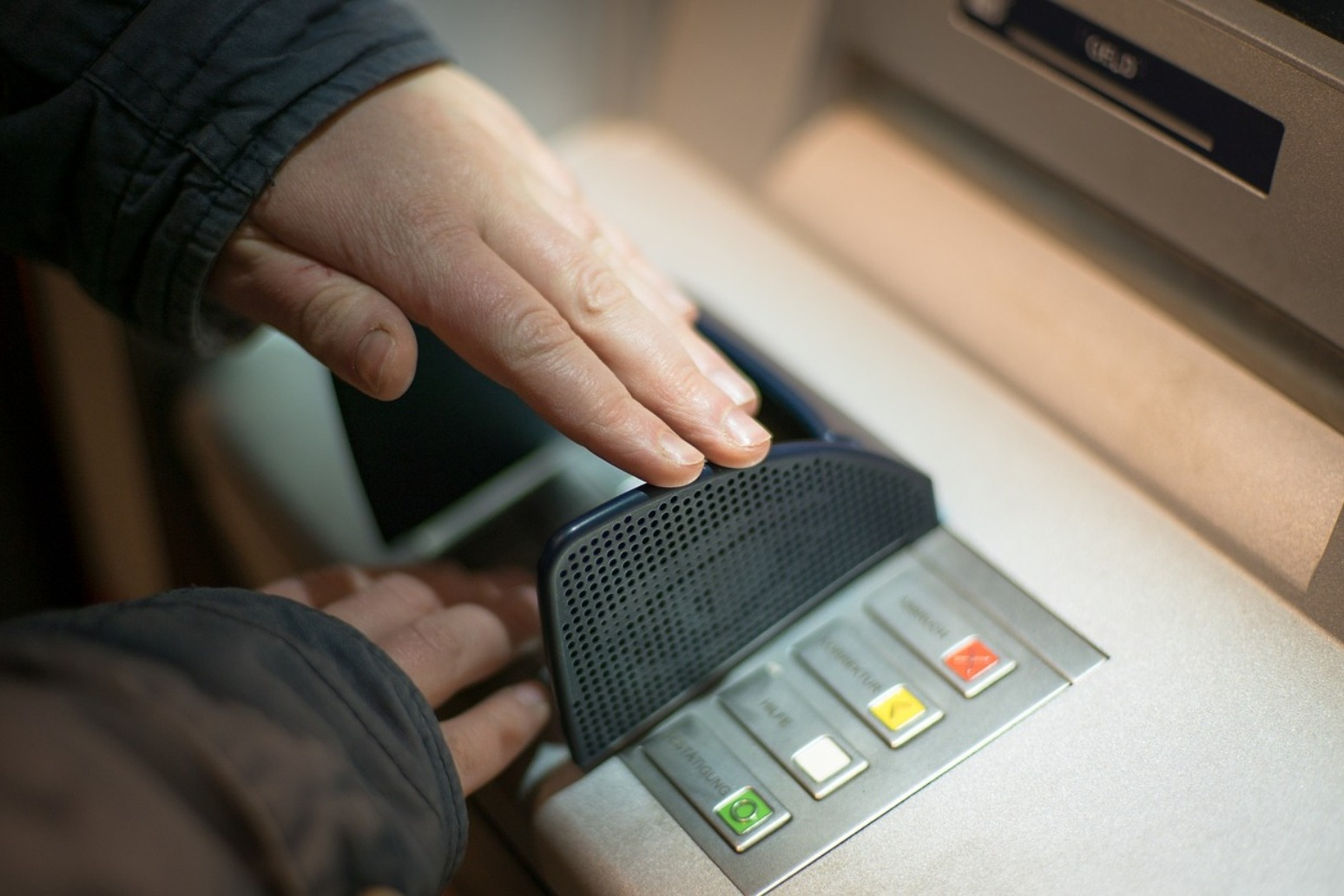 ATM use sees significant fall in use as people stay at home