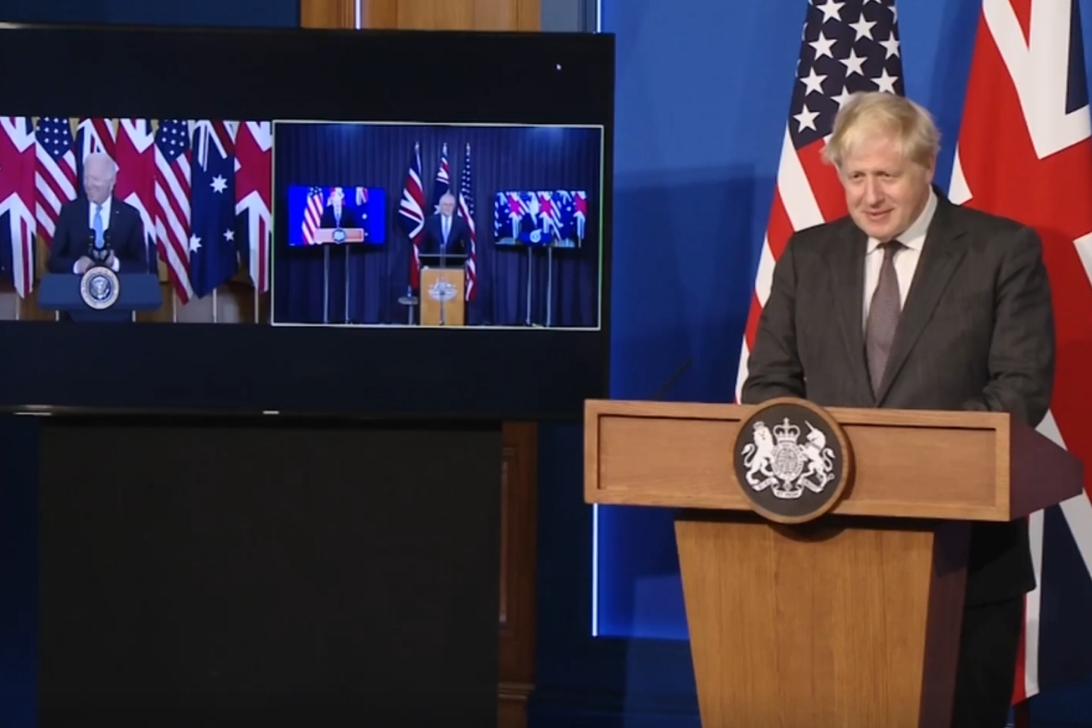 UK, US and Australia form defence alliance in bid to keep China in check