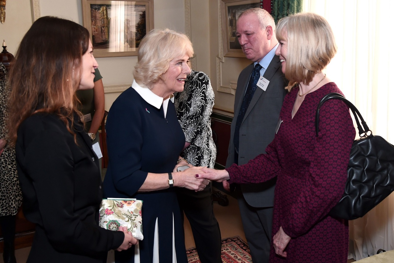Camilla stresses importance of talking about domestic abuse