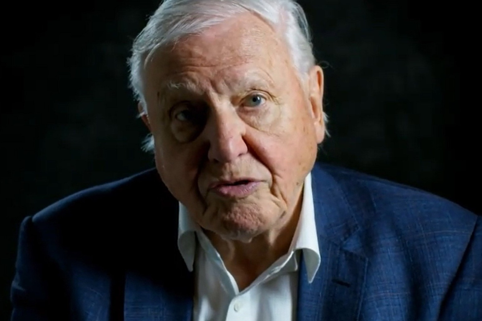 Sir David Attenborough warns that humans have \