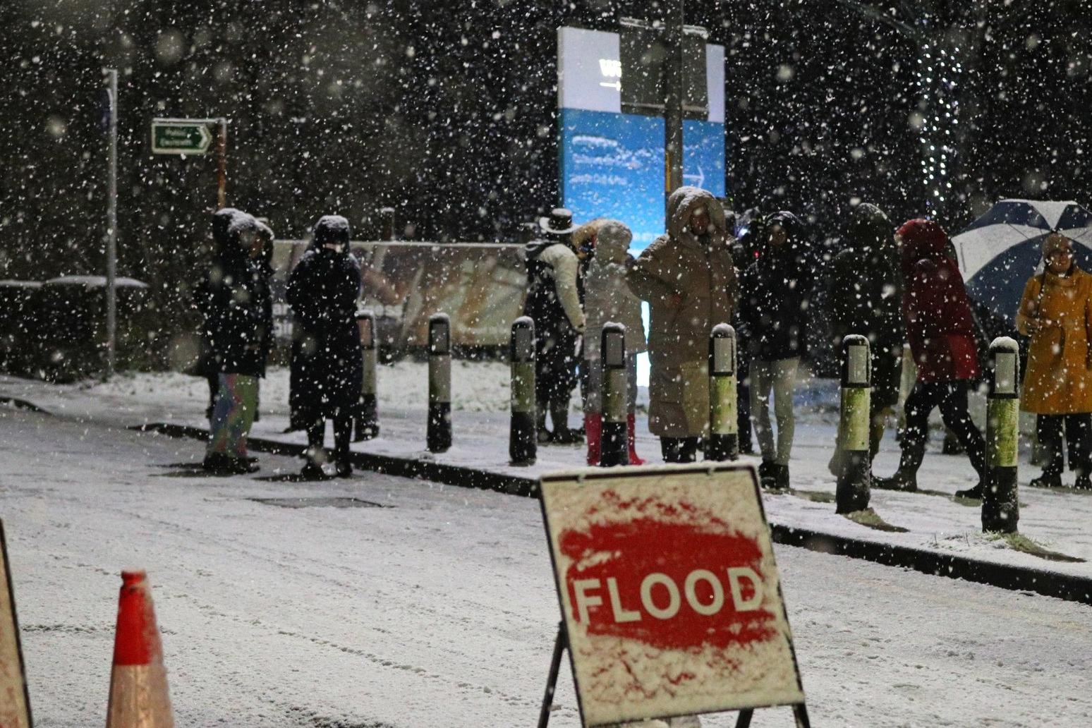 Hundreds evacuated from homes overnight as Storm Christoph causes flooding