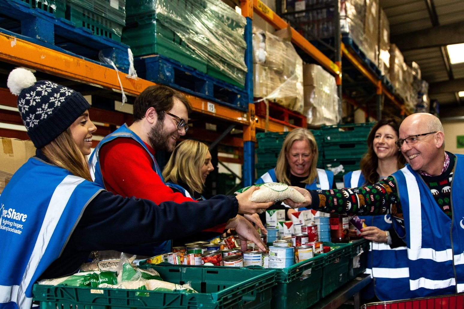 FOOD BANKS BRACED FOR BUSIEST DECEMBER ON RECORD