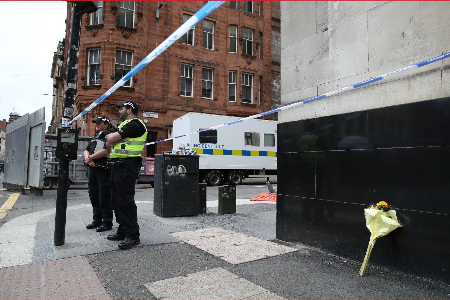 Police name Glasgow attack suspect