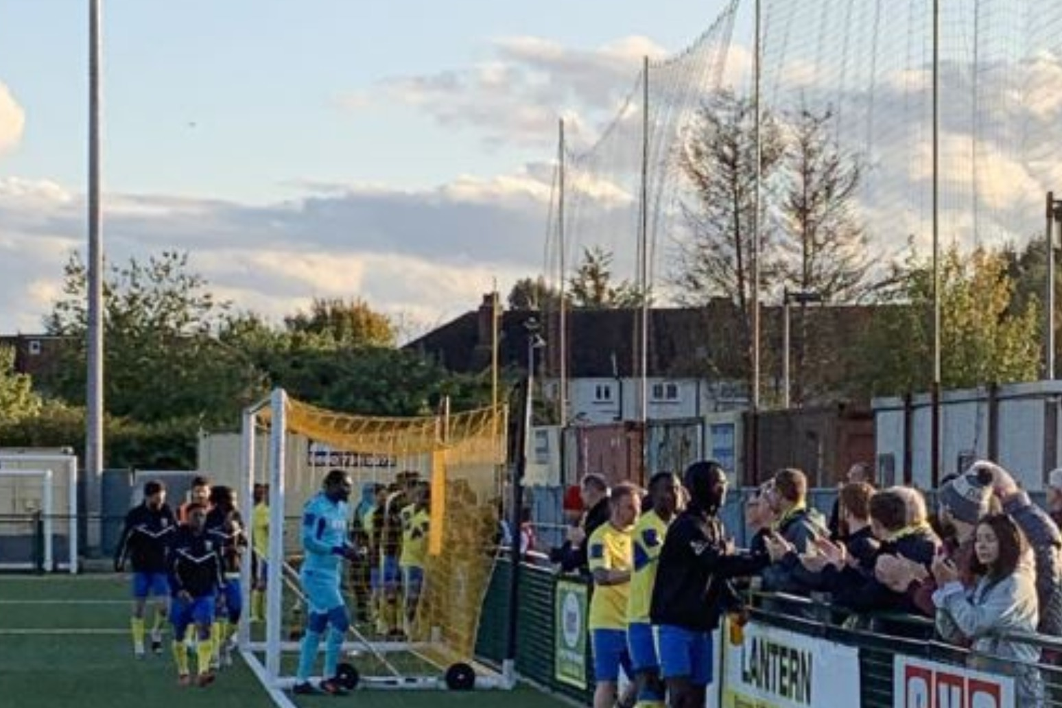 HARINGEY BOSS PULLED \'FRIGHTENED\' PLAYERS OFF PITCH AFTER RACIST ABUSE