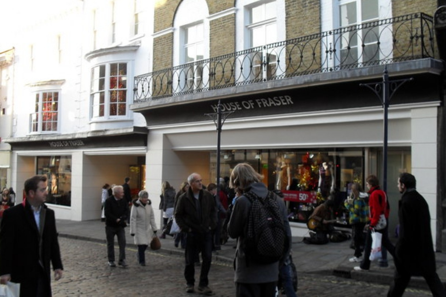House of Fraser appoints administrators leaving 1700 jobs at risk