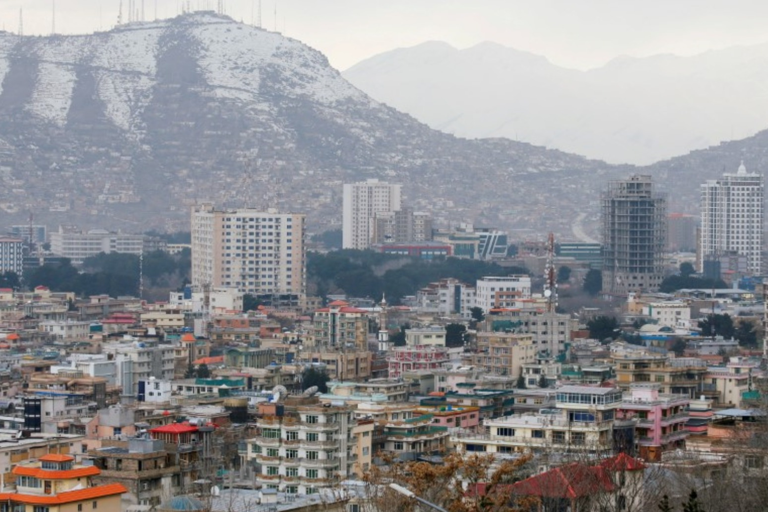 Taliban enter Afghan capital Kabul and demand surrender of government.