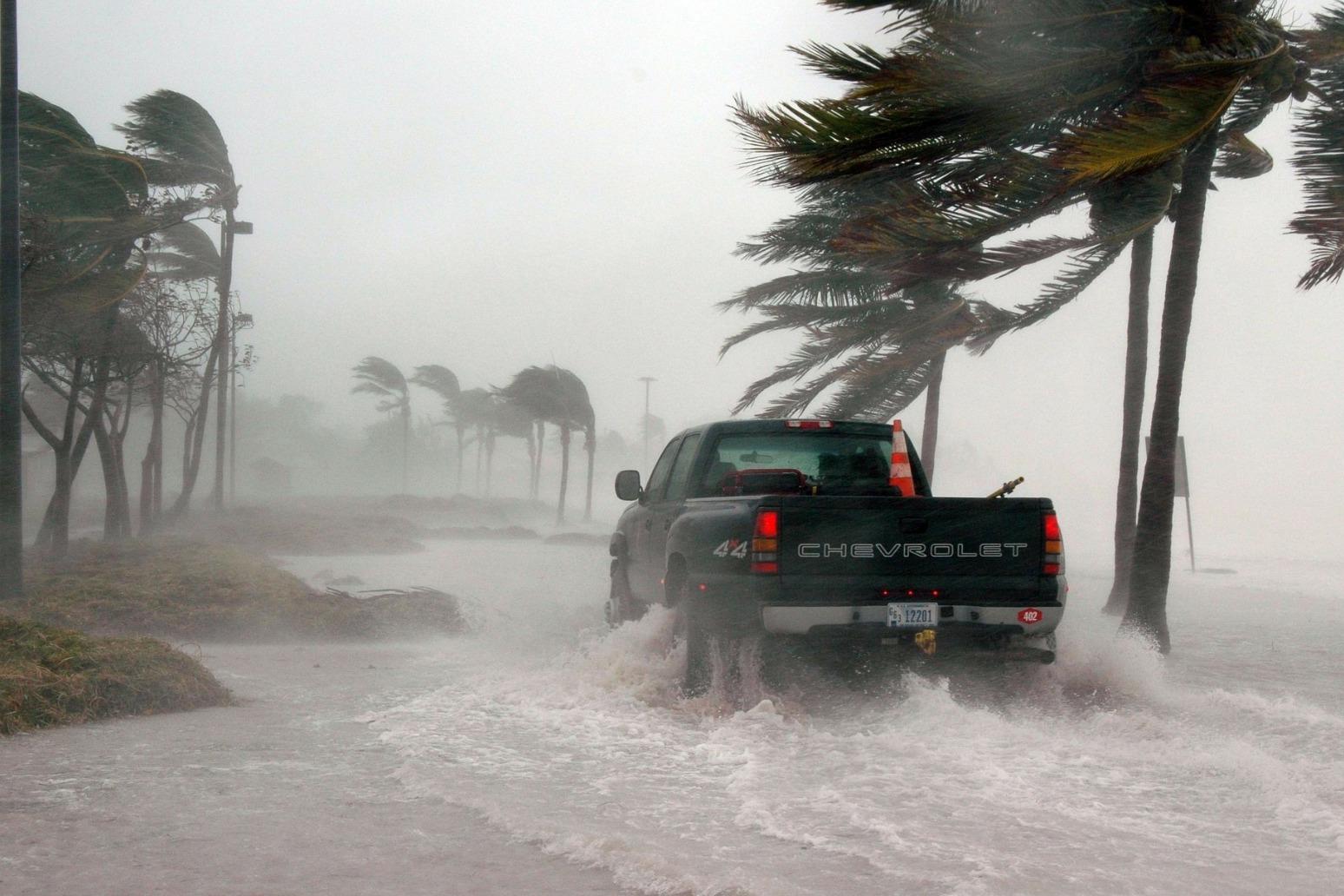 Hurricane Michael plows inland, leaving devastation behind