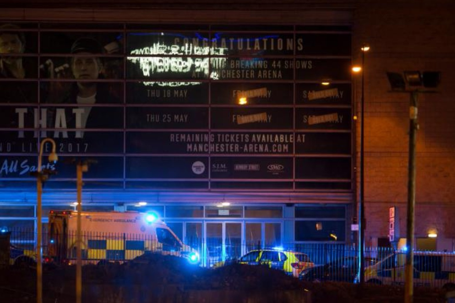 MANCHESTER ATTACK MAY HAVE BEEN AVERTED