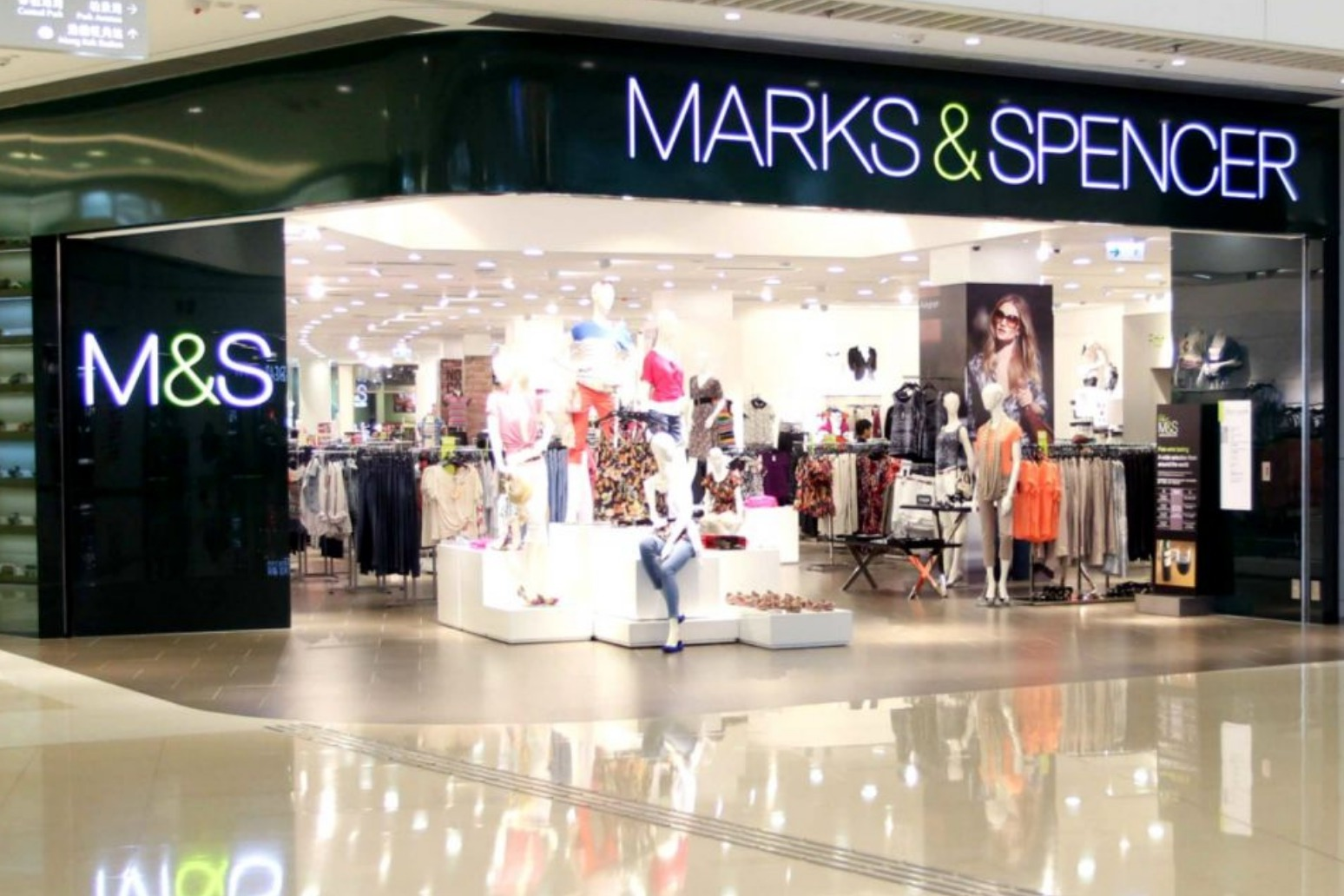 M&S shares slip over FTSE fears