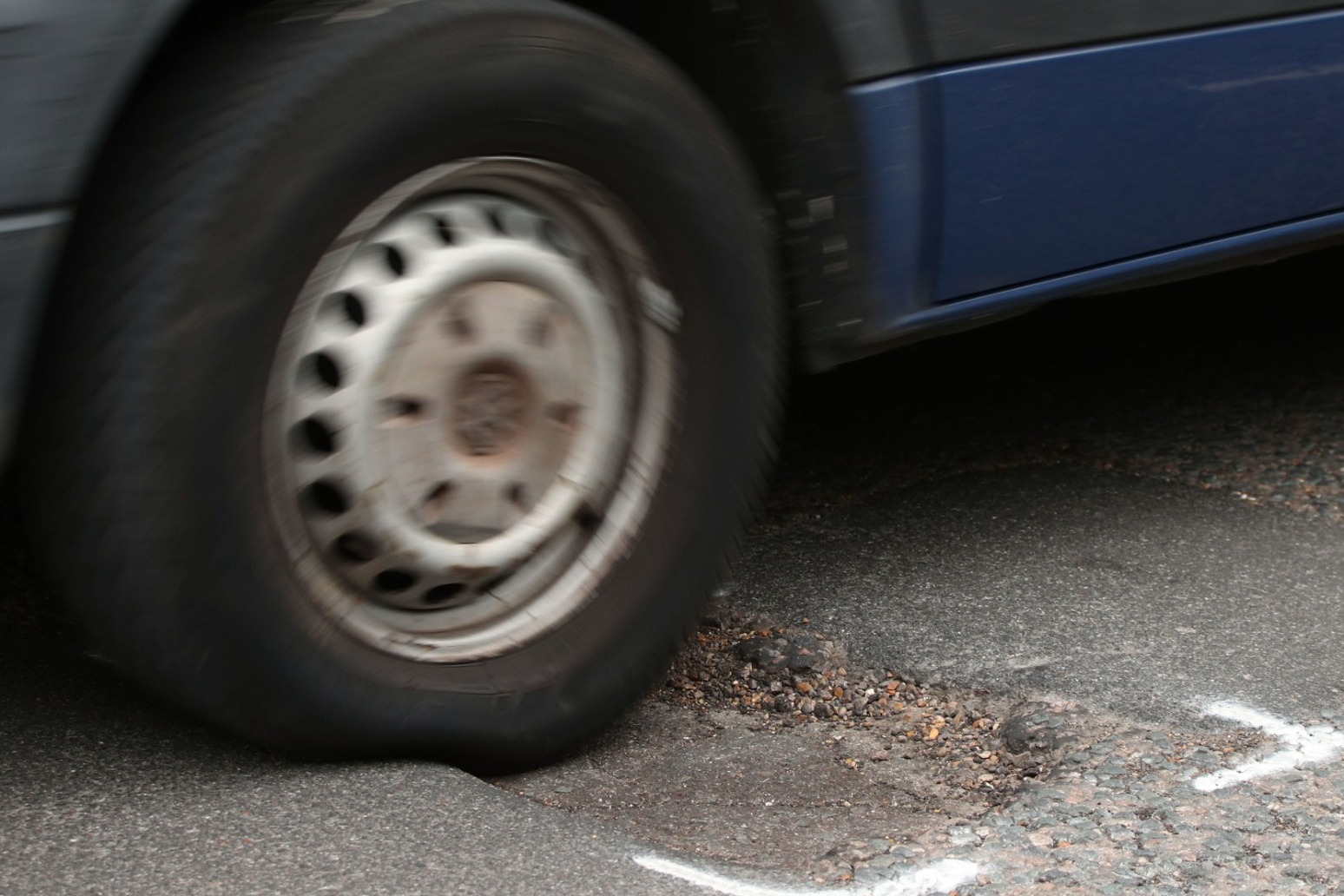 20% spike in breakdowns related to potholes