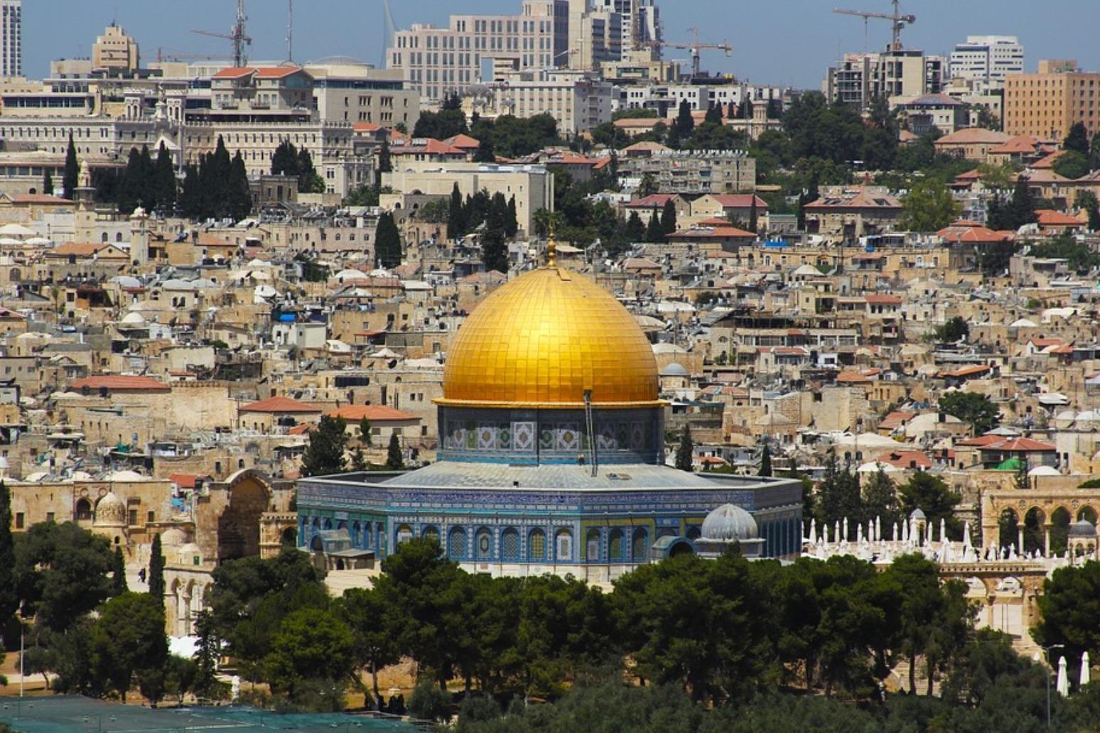 ARAB OFFICIALS CALL FOR TRUMP JERUSALEM REVERSAL