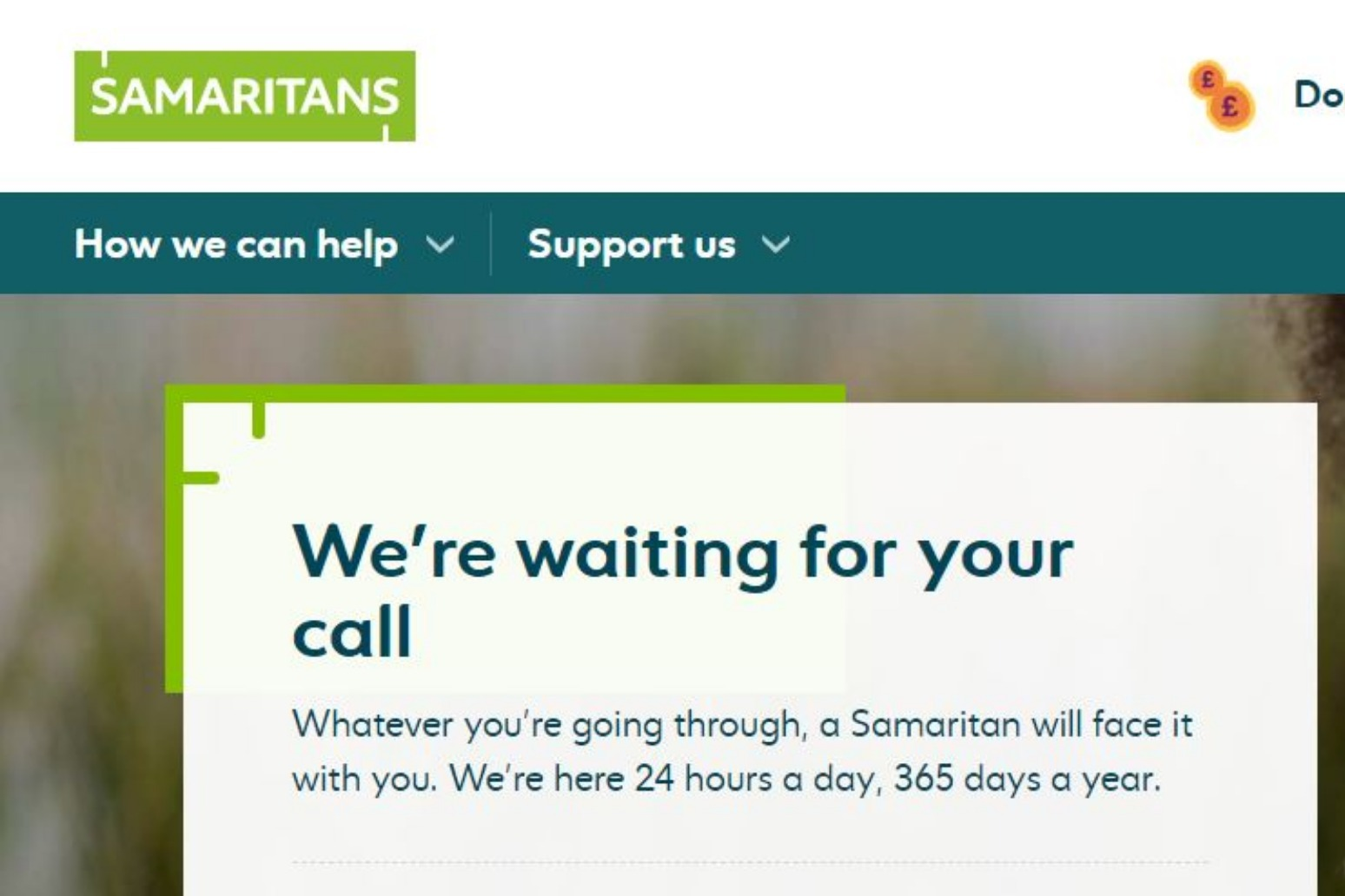 New 'measures' at Samaritans amid reports of volunteers meeting callers for sex