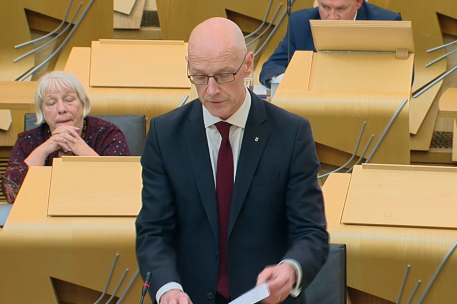 Pupils to receive original marks estimated by teachers, Swinney announces