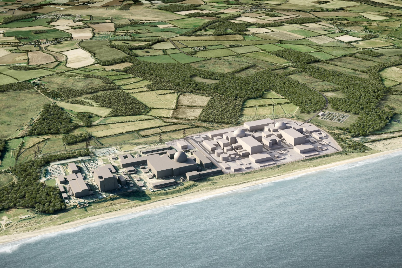 EDF submits plans for new Suffolk nuclear power station