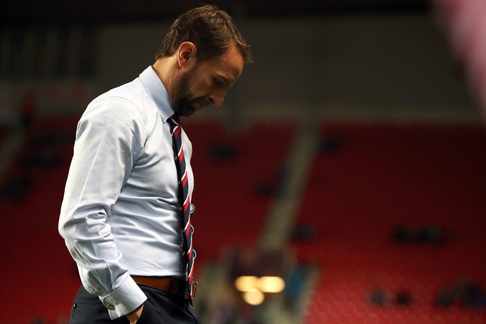 ENGLAND SLIP TO FIRST QUALIFYING DEFEAT IN 10 YEARS