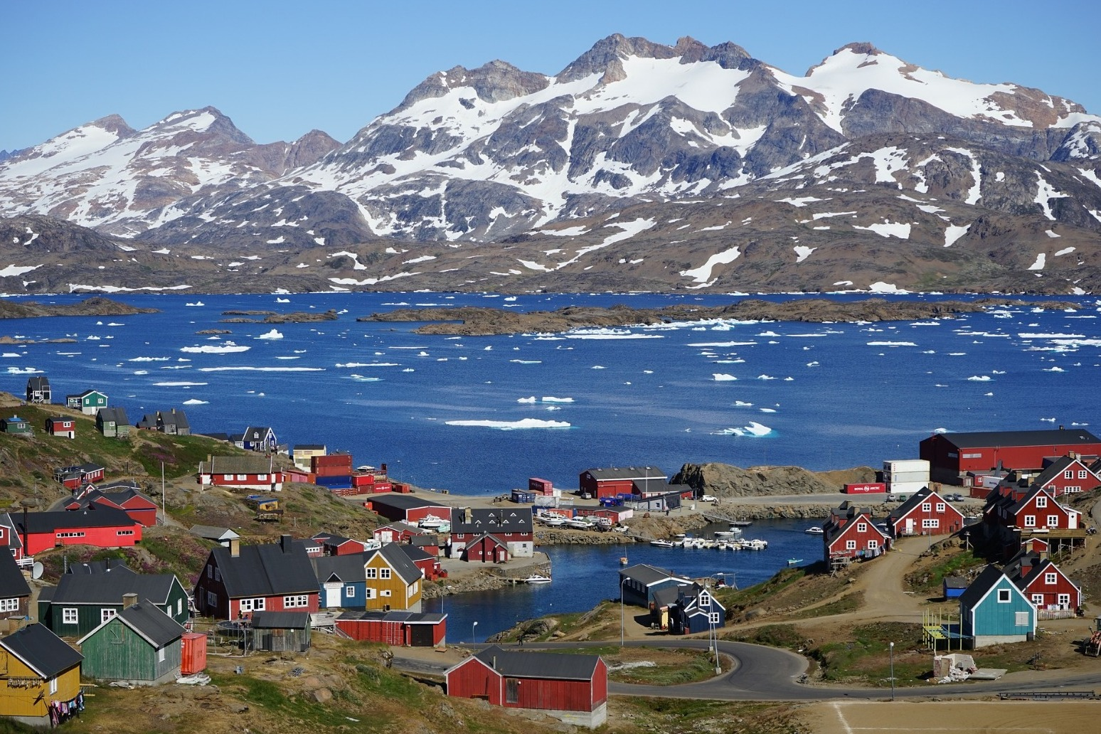 Greenland tells Trump it is open for business but not for sale
