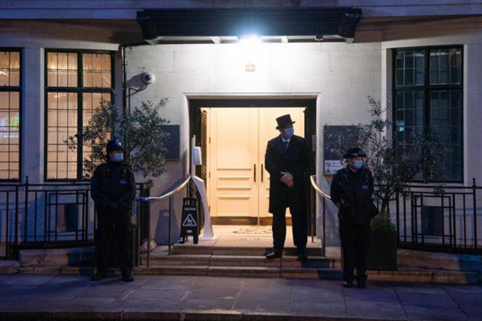 Duke of Edinburgh spends second night in hospital